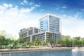 HINES AND TRIDEL ANNOUNCE ANTICIPATED LAUNCH OF AQUALINA AT BAYSIDE TORONTO