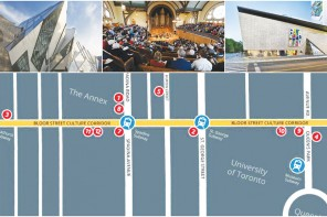 U of T Partners up with the  Bloor Street Cultural Corridor