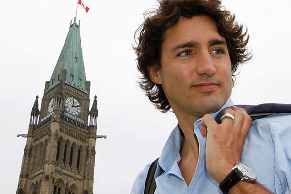 Justin Trudeau,  leader of the Liberal Party of Canada