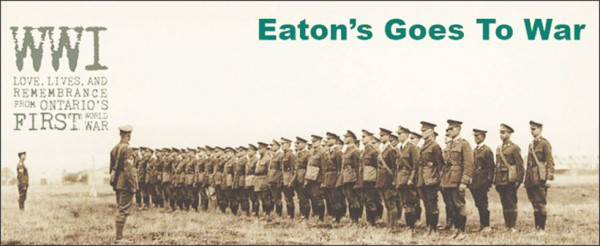 At the start of World War I (WWI), men from all over Canada were enlisting for overseas military service.  Some of these men were forced to sacrifice their jobs and livelihoods to pursue what they saw as their duty to their country.   But for the employees of the T. Eaton Company Ltd., this Endeavour was encouraged with unprecedented support. Archives of Ontario Library Reference Code: 658.871 M37 Archives of Ontario