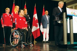 Harper attends 2015 Pan Am and Parapan Am Games reception