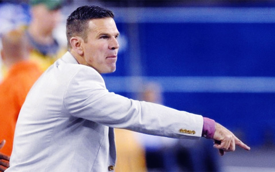 Greg Vanney, current head coach of Toronto FC and director of TFC Academy.