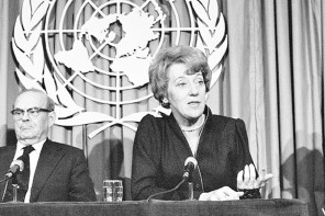 Flora MacDonald, former Conservative Cabinet minister, dies at 89