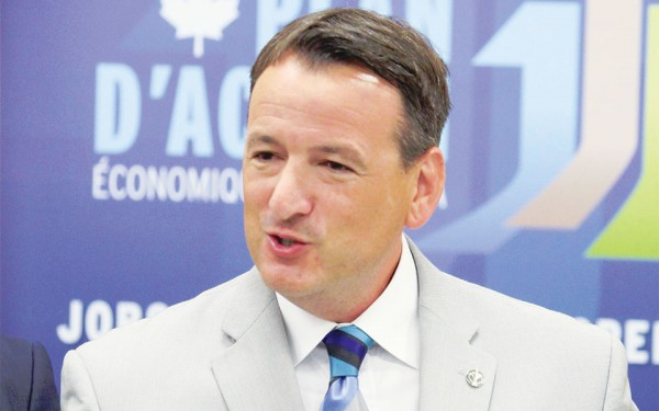 Canada's Natural Resources Minister Greg Rickford