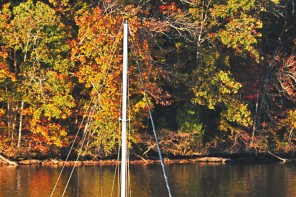 Fall Boating A splendour of experience safely