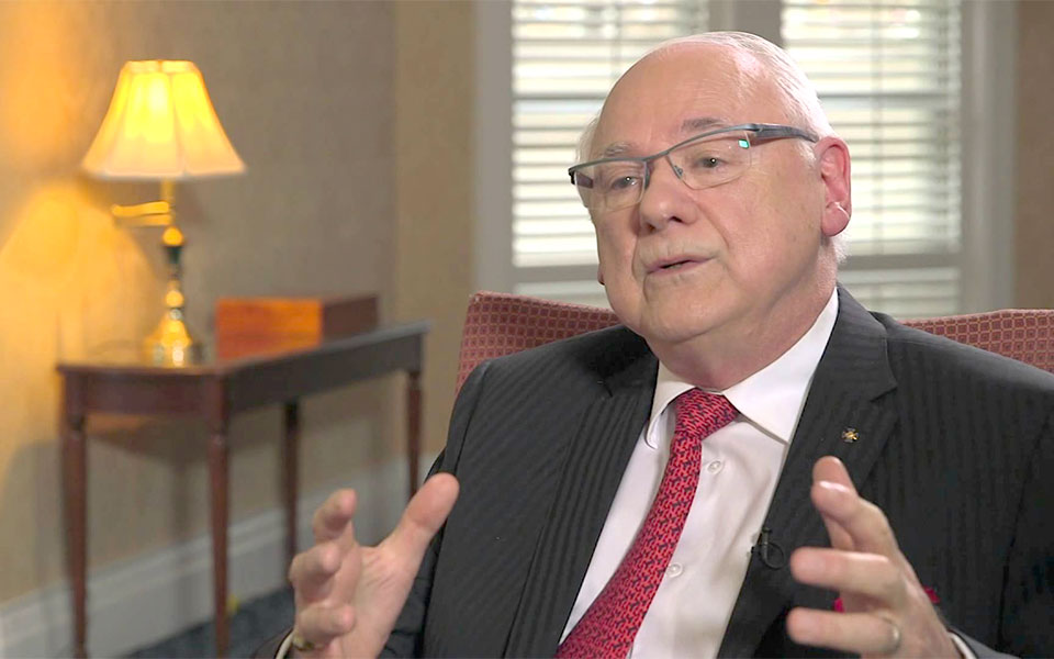 Retired colonel and military law expert Michel Drapeau