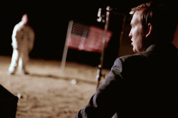 """Billed as a fake documentary, """"Operation Avalanche"""" follows two CIA agents in the 1960s as they infiltrate NASA to find a Russian spy and end up trying to fake a moon landing.                                                                                                              Photo: XYZ FILMS"""