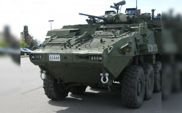 Canadian-made LAV 6.0 for Saudi Arabia National Guard