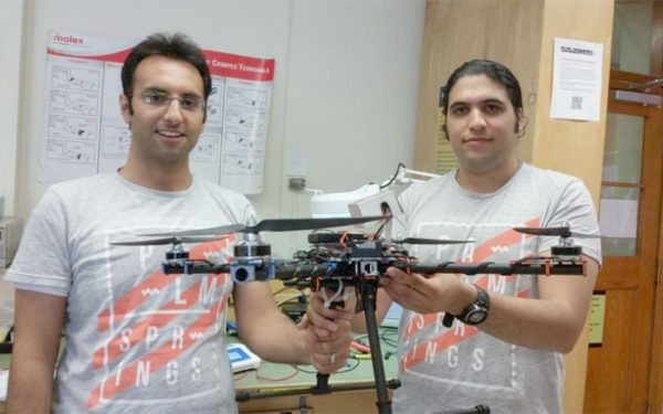 Amir Taheri (left) and Sadegh Tabei, two of Breeze Bird's developers.