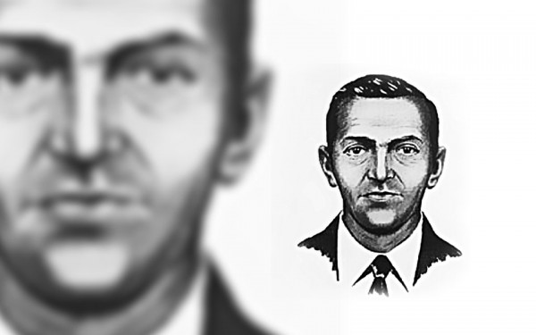 A 1972 FBI composite drawing of D.B. Cooper.
