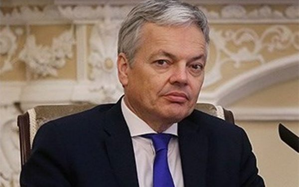 Didier Reynders, Belgian Foreign Minister