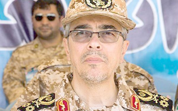 General Mohammad Hossein Bagheri, Chief of Staff for the Armed Forces of the Islamic Republic of Iran.