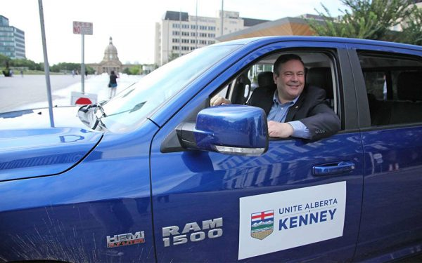 "Jason Kenney on the first day of his Unity Tour to ""Unite Alberta"" on August 1, 2016. (Photo: Facebook – Jason Kenney)"