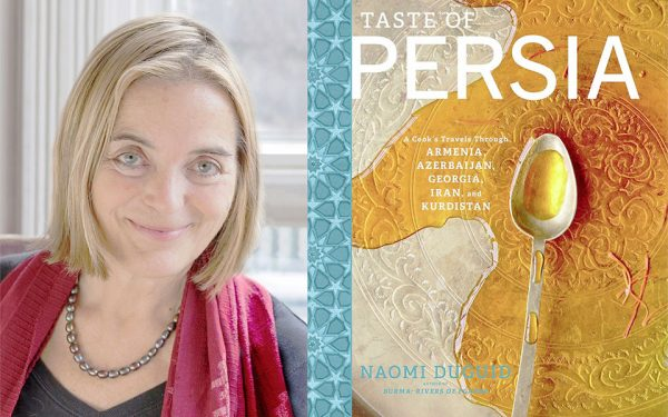 Born in Ottawa, Naomi Duguid is a food writer and photographer based in Toronto. In her latest cookbook, Taste of Persia, Naomi explores the culinary region of Persia, escorting readers through villages, markets and into people's homes.