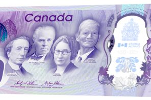 The many faces and places on the Canada 150 commemorative note
