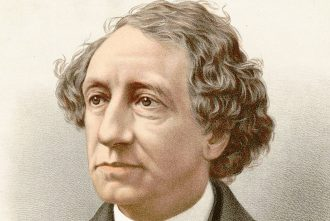 Sir John A. Macdonald was Canada's first prime minister and one of the Fathers of Confederation, under whose leadership and vision the Dominion of Canada formed, grew and expanded until it stretched from sea to sea to sea.