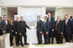 His Royal Highness Crown Prince of Denmark opens new architecture exhibit at Bayside Toronto